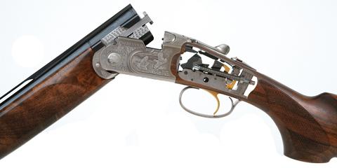 Beretta 28-bore shotgun action.