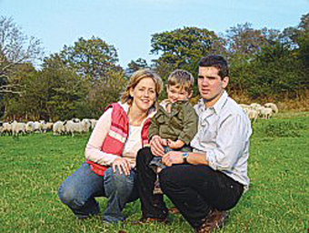 The Welsh Farm Organics family.