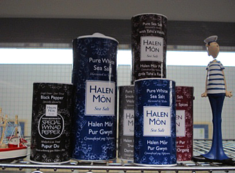 A selection of Halen Môn products.