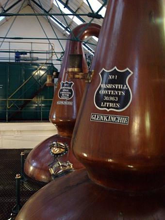 Whisky distillery.