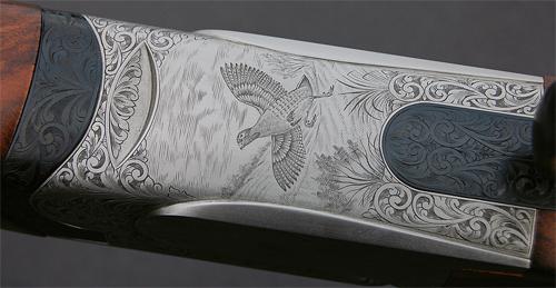 Perazzi SC3 20-bore engraving.