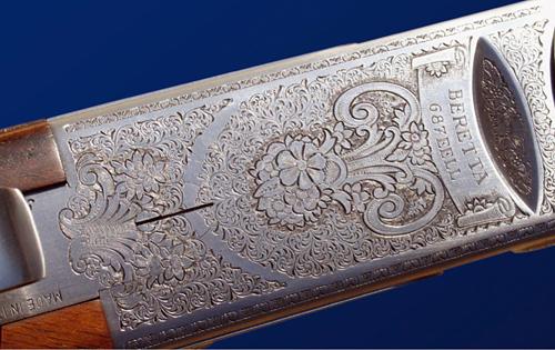 Beretta 687 EELL engraving.
