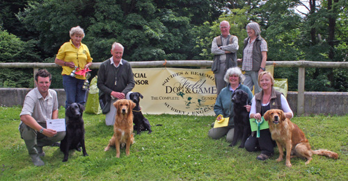URC, Hants & South West Area puppy winners