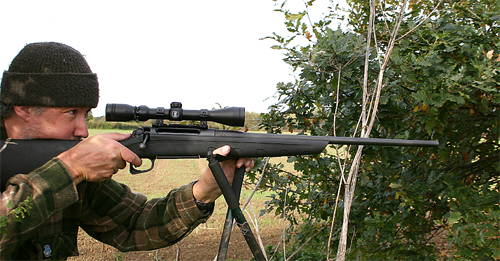 Remington 770 rifle on test