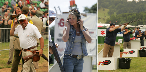 Shooting and Gunmakers' Row at the CLA Game Fair