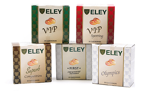 eley clay cartridges