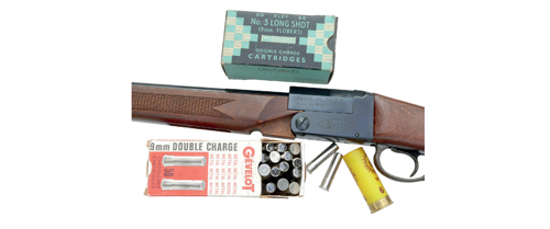 Falco 9mm rimfire rifle