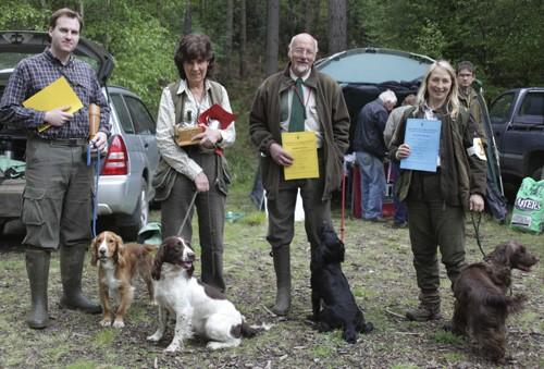chiltern gundog society novice winners