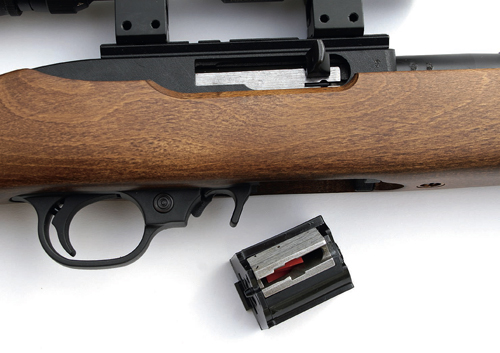 Ruger 10/22 RB rimfire rifle mag