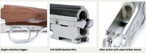 Yildiz 410 ejector shotgun detail