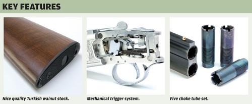 Yildiz .410 ejector shotgun details