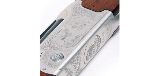 Yildiz 410 ejector shotgun engraving