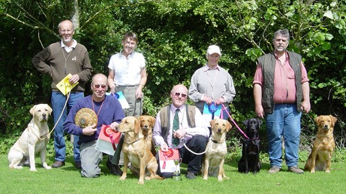 URC Border Counties & Cotswolds puppy winners