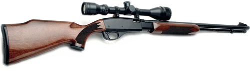 Remington Fieldmaster BDL .22LR rifle.