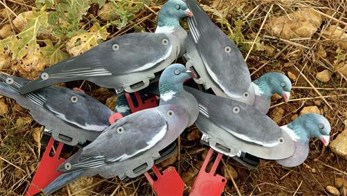 FUD pigeon decoys