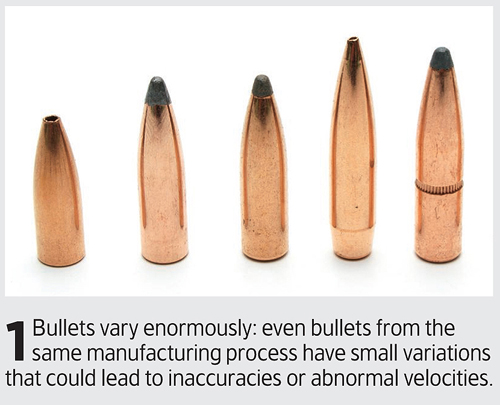 How to check bullet uniformity