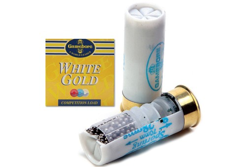Gamebore white gold cartridges.