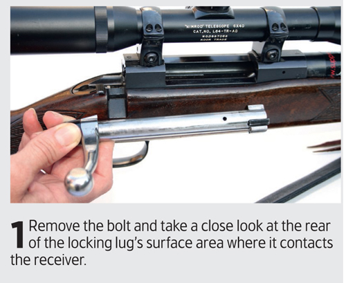 Smooth out the bolt lug on your rifle