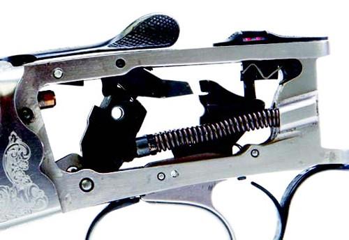 Rizzini BR550 shotgun trigger.