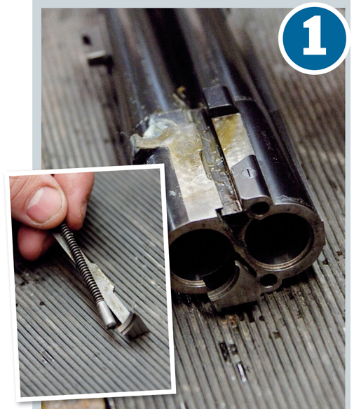 Replacing a U-bolt on your shotgun