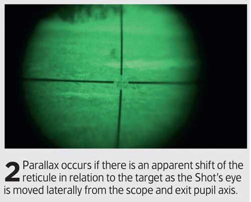 parallax adjustment in rifle scope