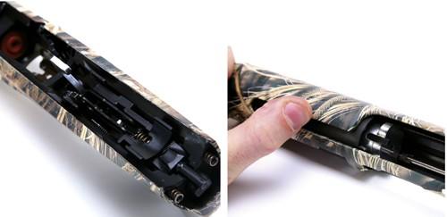 Benelli Vinci semi-auto camo shotgun.