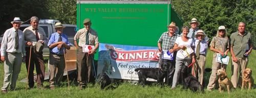 Wye Valley Veteran winners