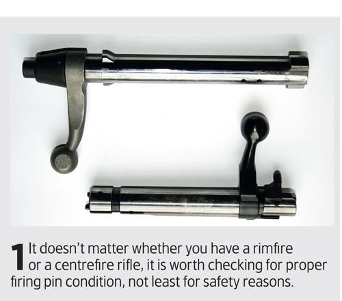 firing pin check