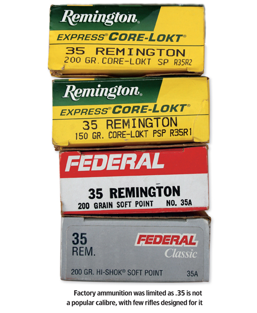 35 Reviews: .35 Remington Cartridge Review Review