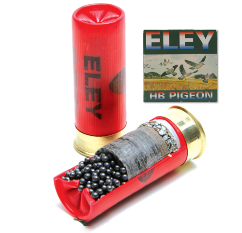Eley - HB pigeon cartridge.