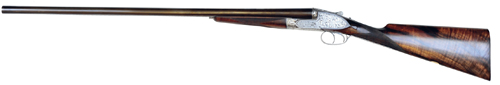 Purdey sidelock 16-bore shotgun