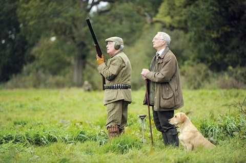 Game shooting Quidenham