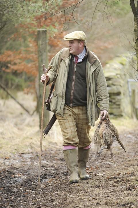 Pheasant shooting Underley Cumbria