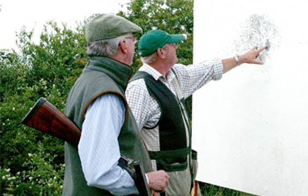Gun fit for clay shooting