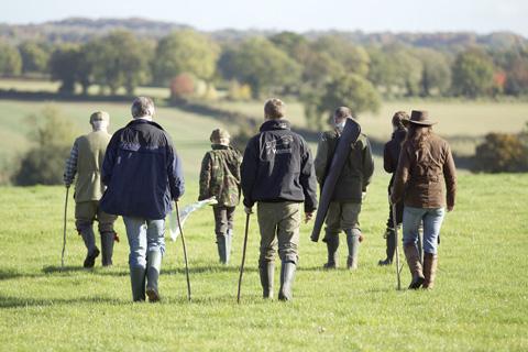 Pheasant shooting Priors Park