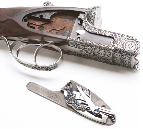 Boxall and Edmiston Sidelock shotgun