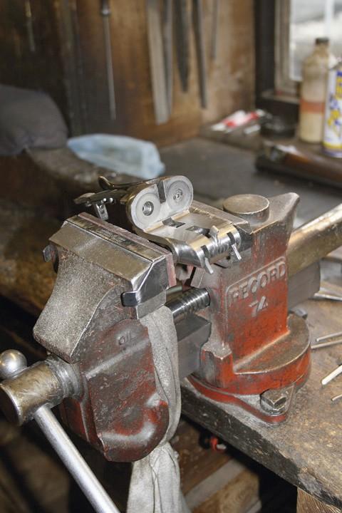 Gunsmith at work