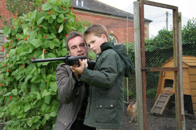 Junior sized airgun