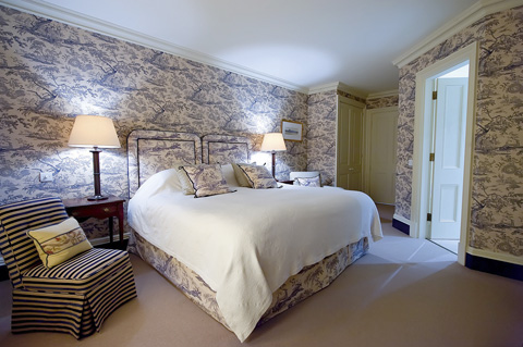 Bedroom at Park House Hotel