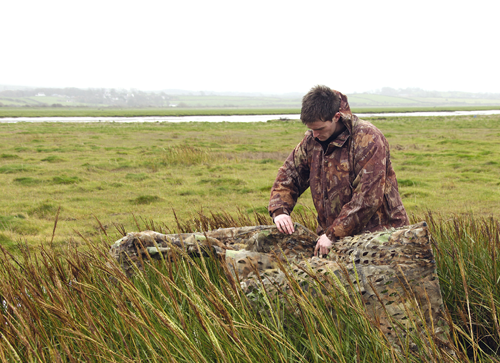 Wildfowling camouflage net