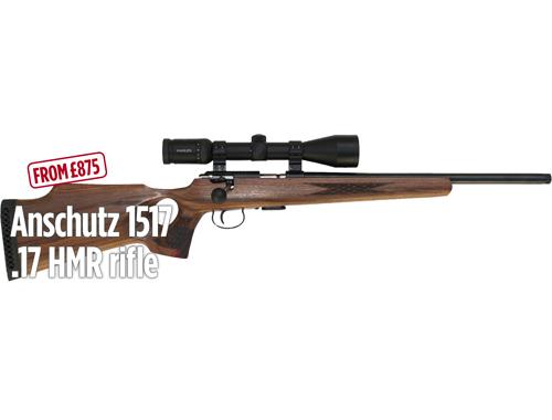 Anschutz 1517 .17 HMR rifle