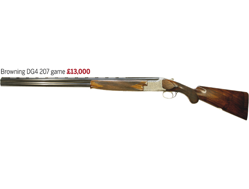 Browning DG4 207 game gun