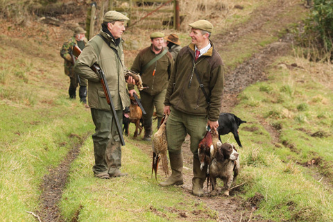 Game Shooting In The Kingdom Of Fife Shooting Uk