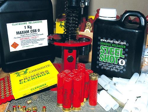 Home loading Steel Shot cartridges to save ££££ - Shooting UK