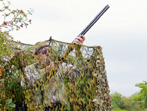 pigeon shooting camo net