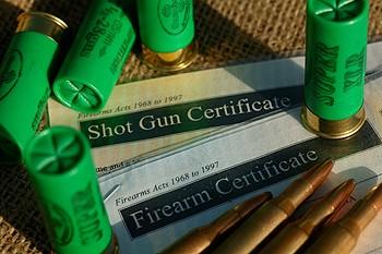 shotgun licence