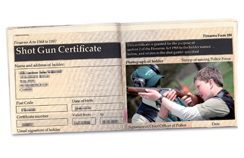 how to get a shotgun licence in uk