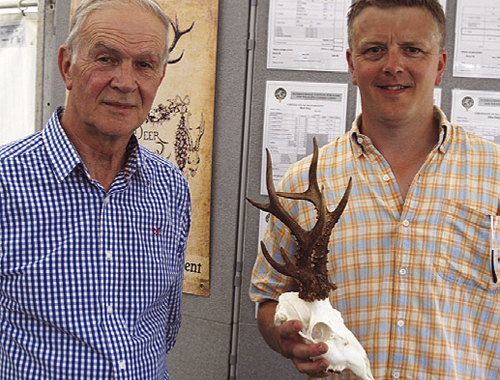 First Welsh Gold Medal Roe Head Recorded At Cla Shooting Uk