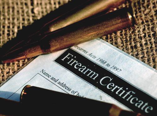 Firearm certificate