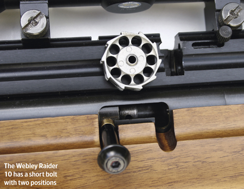 Webley Raider air rifle
